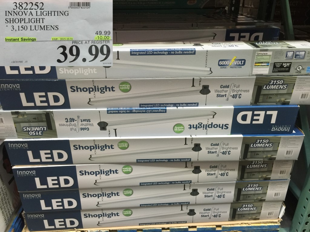 low priced c78c3 dd0b3 Amazon Canada] 4-ft LED Shop Lights by Hyperikon - 3800 ...