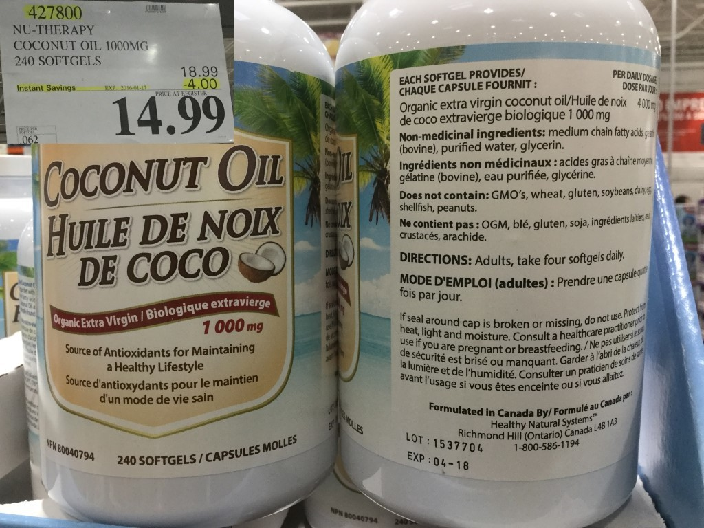 West costco sales items january 11 17 costco west fan blog for Nature made fish oil costco