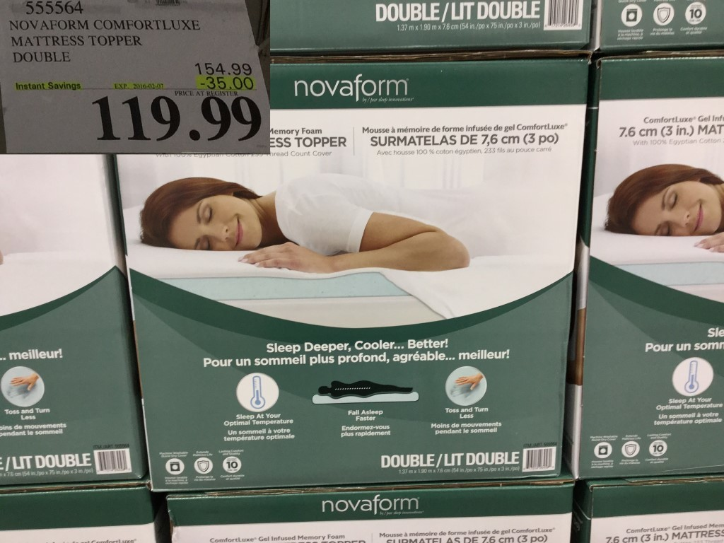 there is a new option to subscribe to website updates via email at the top right of every page sign up if you donu0027t want to miss a post - Costco Mattress Topper