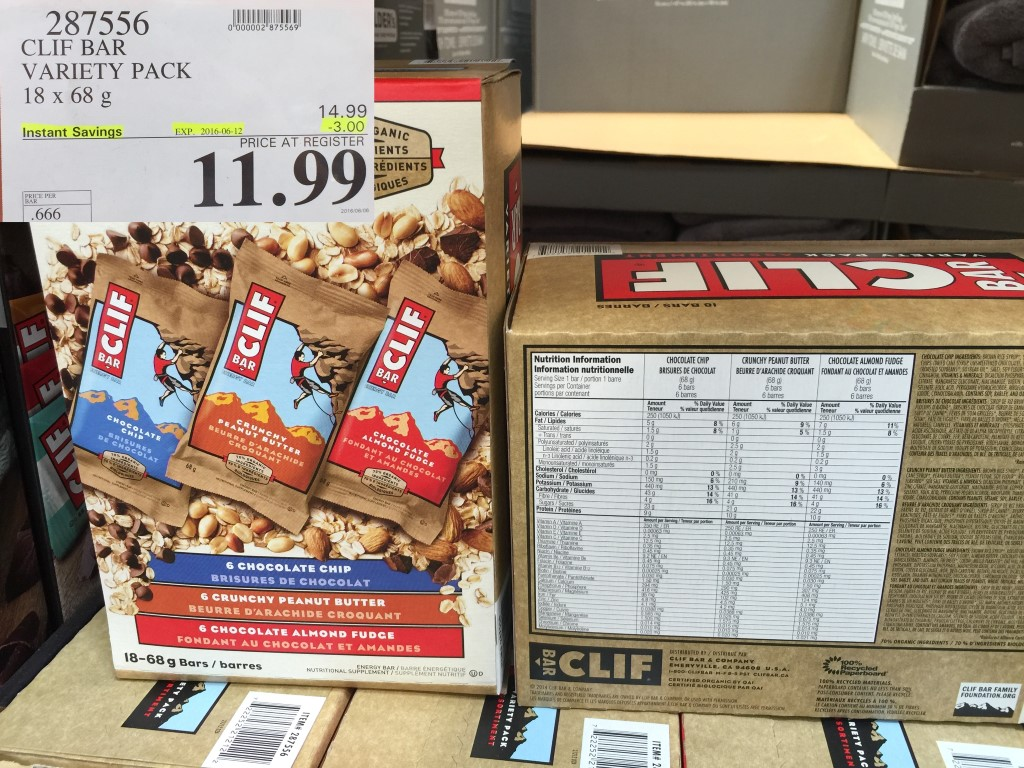 photo about Cliff Bar Printable Coupons called Costco discounts june 2018 - Starbucks espresso pod discount coupons