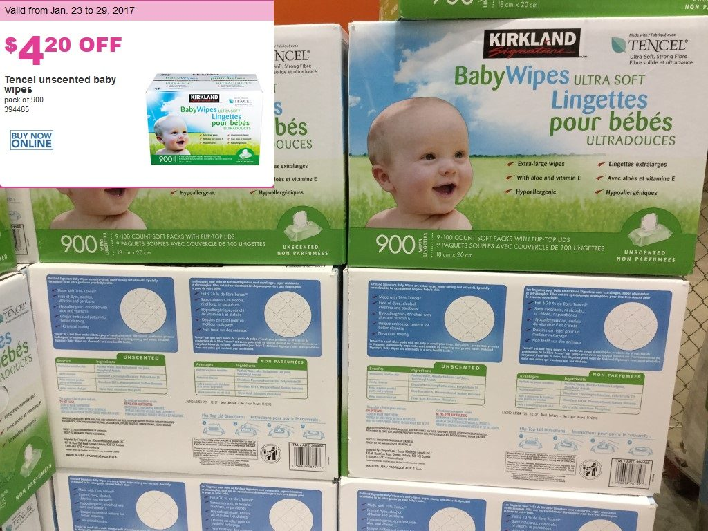 PREVIEW: Kirkland Baby Wipes: January 23-29 for BC ...