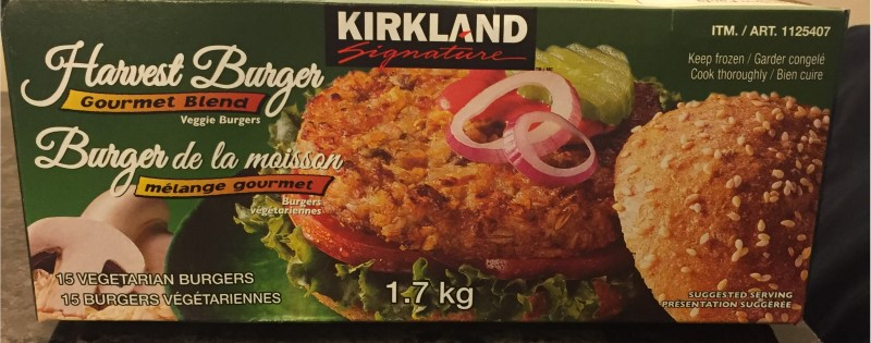 Costco Kirkland Signature Harvest Burger